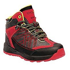 Regatta - Red 'Samaris' kids walking boots