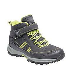 Regatta - Brown 'Trail space' kids mid walking boots