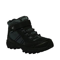 Regatta - Kids Black Trailspace mid walking boot