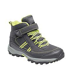Regatta - Brown 'Trail space' kids mid walking boots