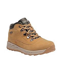 Regatta - Yellow 'Grimshaw' suede walking boot