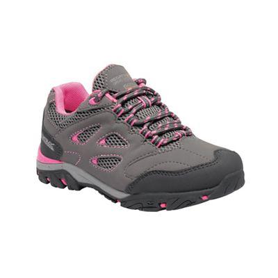 Regatta - Grey 'Holcombe' kids walking shoes