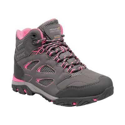 Regatta - Grey 'Holcombe' kids walking boots