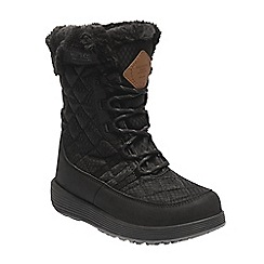 Regatta - Black 'Medley' kids quilted boots