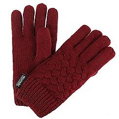 Regatta - Red 'Merle' kids gloves