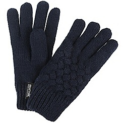 Regatta - Blue 'Merle' kids gloves
