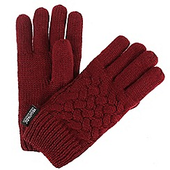 Regatta - Red 'Merle' kids gloves