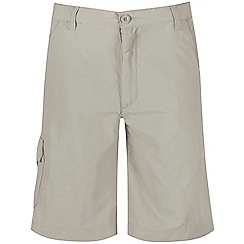 Regatta - Boys' natural sorcer crease resistant shorts