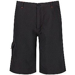 Regatta - Boys' grey sorcer crease resistant shorts
