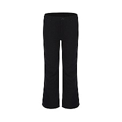 Regatta - Kids Black dayhike waterproof stretch trousers