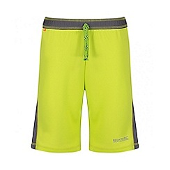 Regatta - Boys' green Resolver short