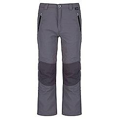 Regatta - Kids Grey Sorcer showerproof trouser