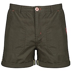 Regatta - Green 'Damzel' kids shorts