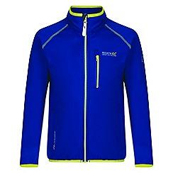 Regatta - Kids Blue 'Limit' softshell jacket