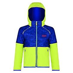 Regatta - Kids Blue 'Hydronic' softshell jacket