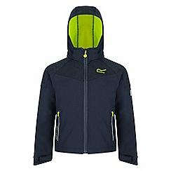 Regatta - Kids Grey 'Acidity' softshell jacket