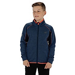 Regatta - Boys' blue 'Limit' softshell jacket