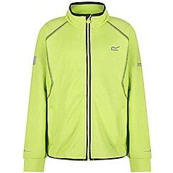 Regatta - Green 'Limit' kids softshell jacket