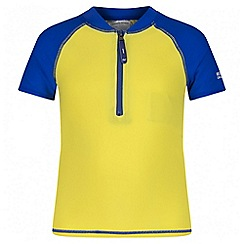 Regatta - Boys' yellow wader swimsuit