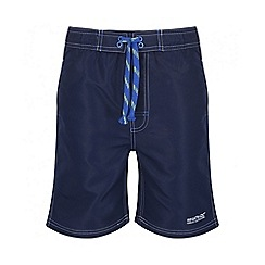 Regatta - Boys' navy skooba swim short