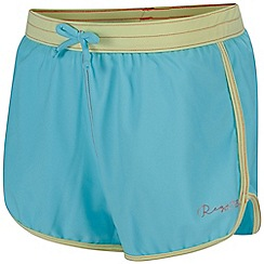 Regatta - Girls' blue 'Frilla' swim short