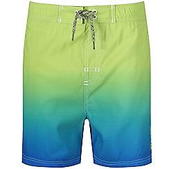 Regatta - Blue 'Skander' kids swim shorts