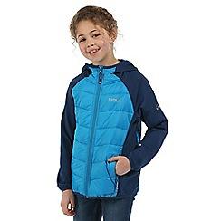 Regatta - Boys Blue Kielder quilted super stretch jacket