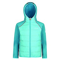 Regatta - Kids Blue 'Kielder' waterproof hybrid jacket