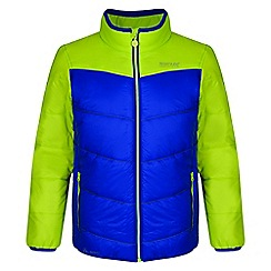 Regatta - Kids Blue 'Icebound' lightweight jacket