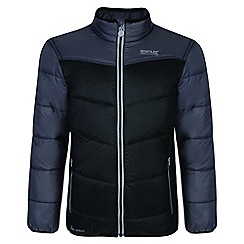 Regatta - Kids Black 'Icebound' lightweight jacket