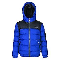Regatta - Kids Blue 'Larkhill' quilted jacket