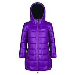 Regatta - Kids Purple 'Berryhill' lightweight jacket