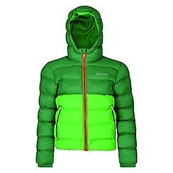 Regatta - Kids Green 'Lofthouse' lightweight jacket'