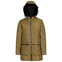 Regatta - Green 'Cherry hill' girls hooded coat