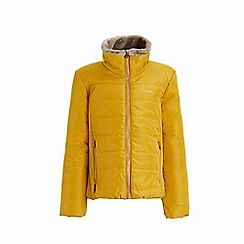 Regatta - Yellow 'Wren hill' girls quilted jacket