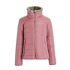 Regatta - Pink 'Wren hill' girls quilted jacket