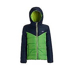 Regatta - Mixed 'Loft house' kids quilted hooded jacket