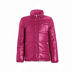 Regatta - Red 'Icebound' kids quilted jacket