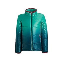 Regatta - Green 'Icebound' kids quilted jacket