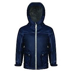 Regatta - Blue 'Melham' kids waterproof jacket