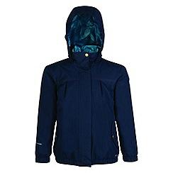 Regatta - Kids Blue 'Sugarwell' waterproof jacket