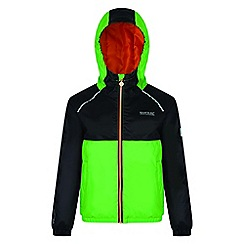 Regatta - Kids Green 'Urbanyte' waterproof jacket