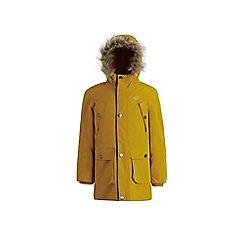 Regatta - Yellow 'Payton' boys waterproof hooded parka jacket