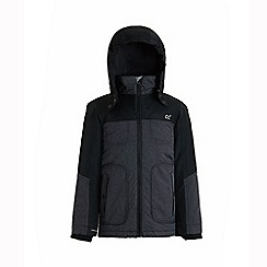 Regatta - Grey 'Kashton' boys waterproof hooded jacket