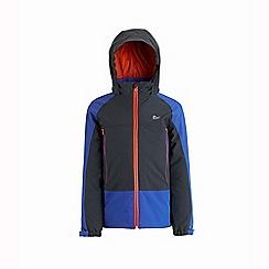 Regatta - Blue 'Hydrate' kids 3 in 1 waterproof hooded jacket