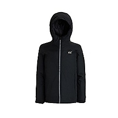 Regatta - Black 'Hurdle' waterproof hooded jacket