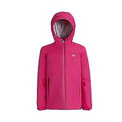 Regatta - Red 'Hurdle' waterproof hooded jacket