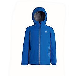 Regatta - Blue 'Hurdle' waterproof hooded jacket