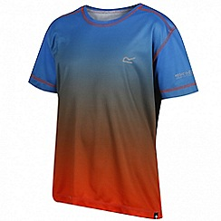 Regatta - Boys' blue 'Fazed' t-shirt