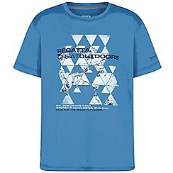 Regatta - Blue 'Alvarado' kids print t-shirt
